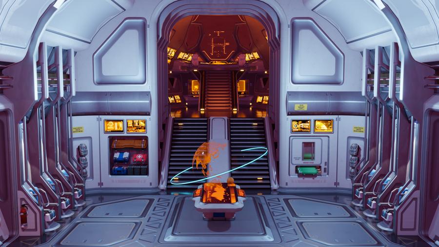 Overwatch - Dropship Spawn