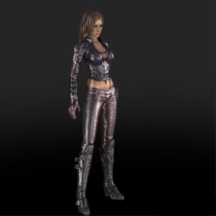 Arkham City Talia Reupload