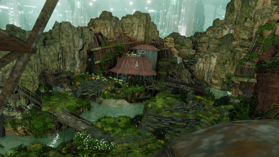 Aerith's house Final Fantasy 7 Remake