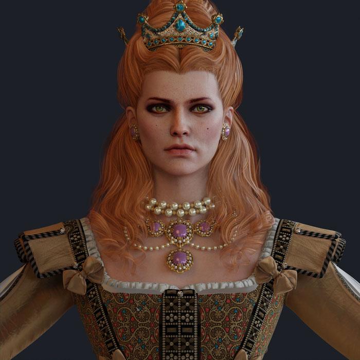 Anna Henrietta [The Witcher 3]