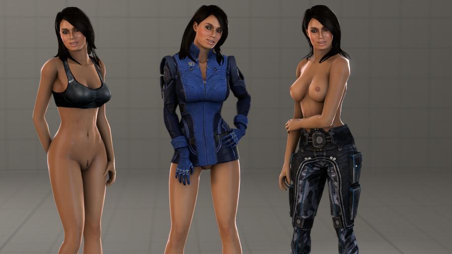 Ashley Variants (Blue Jacket)
