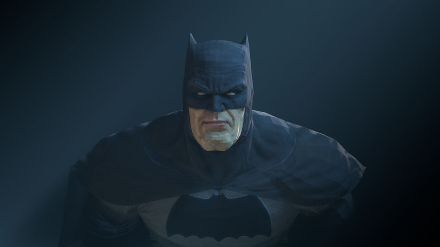 Batman (Arkham City - Dark Knight Returns skin)