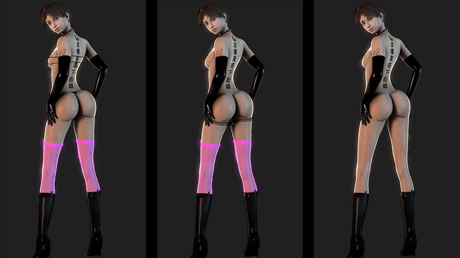 Rebecca Chambers (Resident Evil 0) [DazV4 Update]
