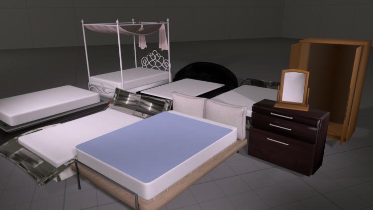 Bedroom Prop Pack