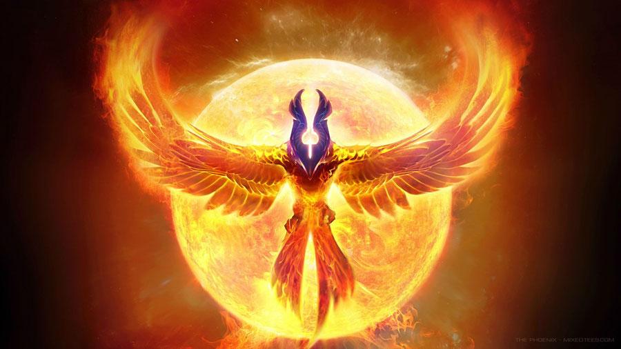 Dota 2: Phoenix Particles & Model