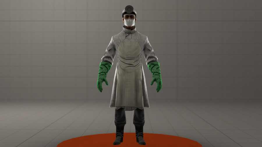 Bioshock Infinite: Suchong (Clean and Bloody)