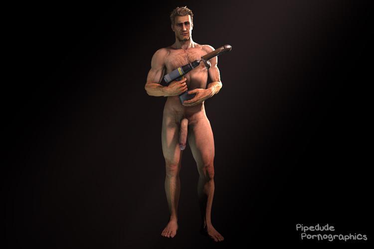[Dead Rising 2] Chuck Greene nude