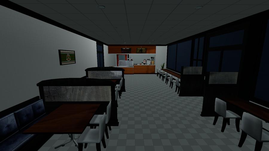 Cafe [Scene Model]
