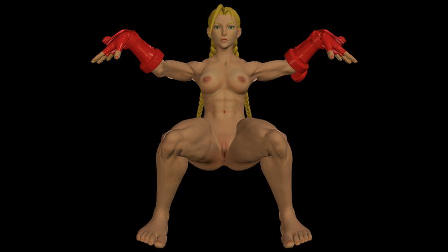 Cammy Nude - SFV