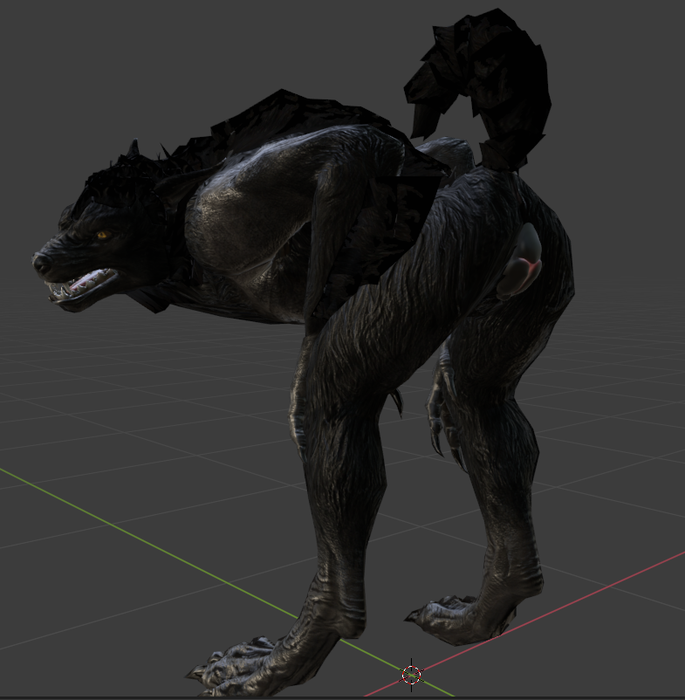 Skyrim Female werewolf