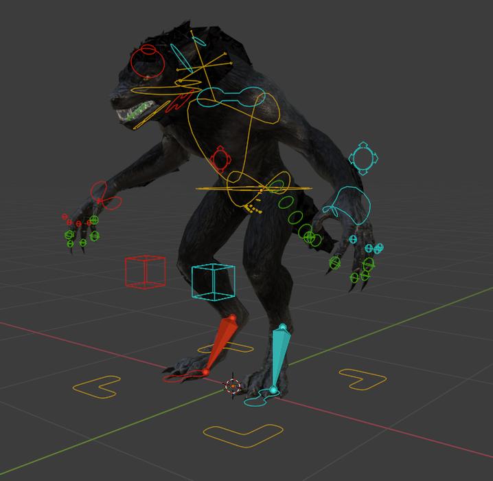 Skyrim Female werewolf