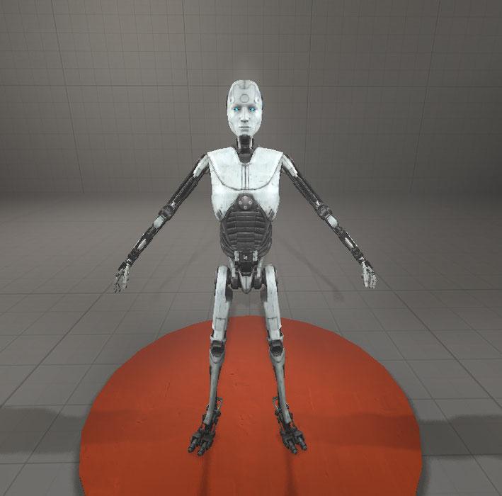 The Talos Principle Robot