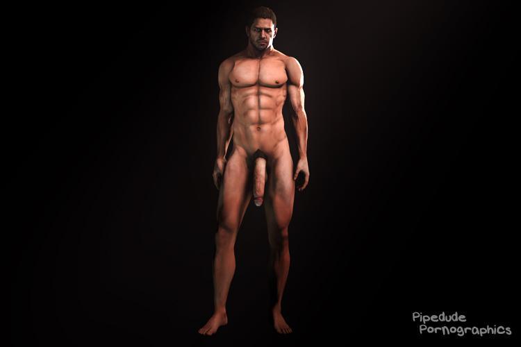 [Resident Evil 6] Chris Redfield nude
