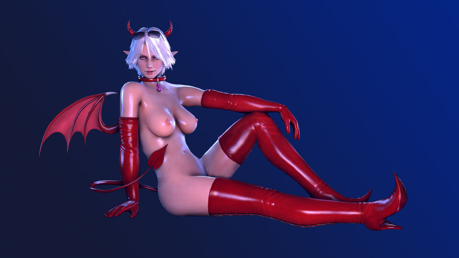 DoA5 - Christie - Halloween costume