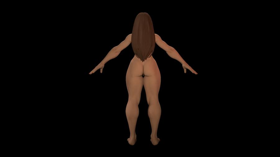 Nude Chun-Li
