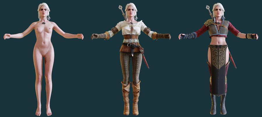Ciri (The Witcher 3)