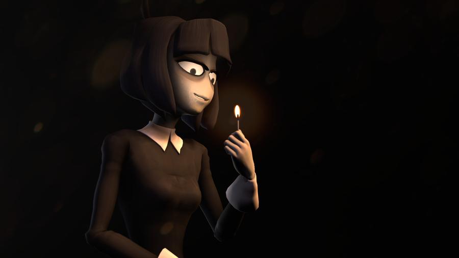 Blenderknight's Creepy Susie