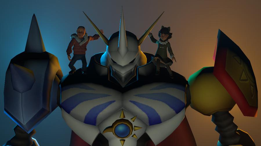 Digimon Linkz-Omegamon