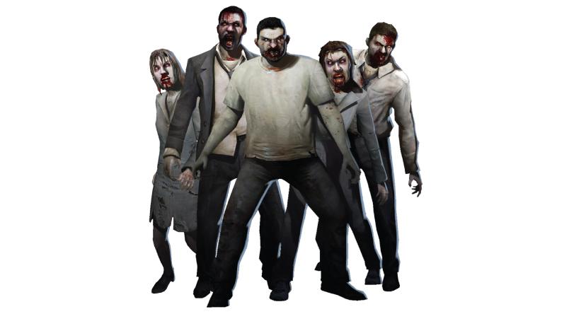 left 4 dead zombies