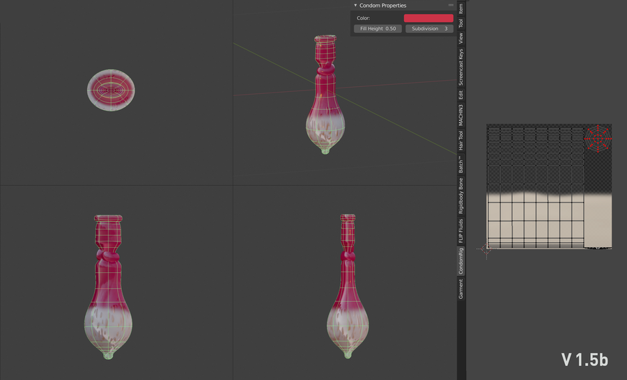Filled Condom Rig 1.6 for Blender