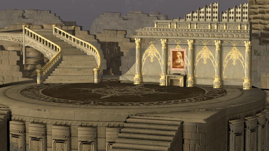 Castle Cornelia - Mobius Final Fantasy