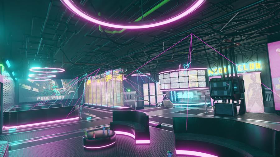 Cyberpunk Nightclub