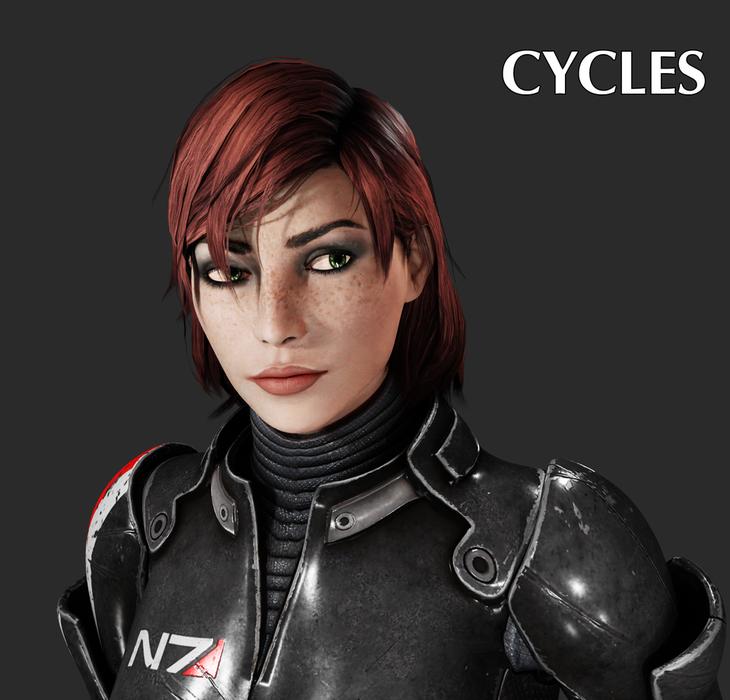 Mass Effect - Femshep