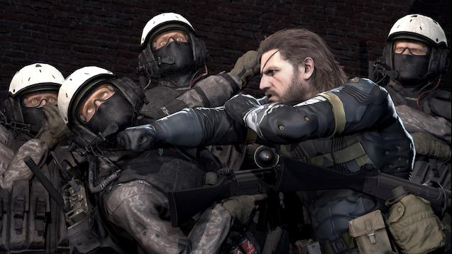 Metal Gear Solid V: Ground Zeroes. Big Boss.