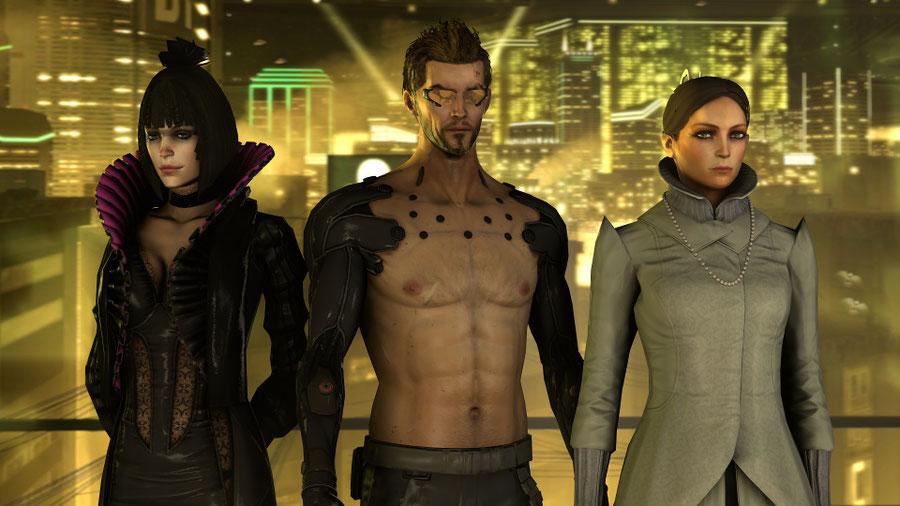 Deus Ex: Human Revolution Models