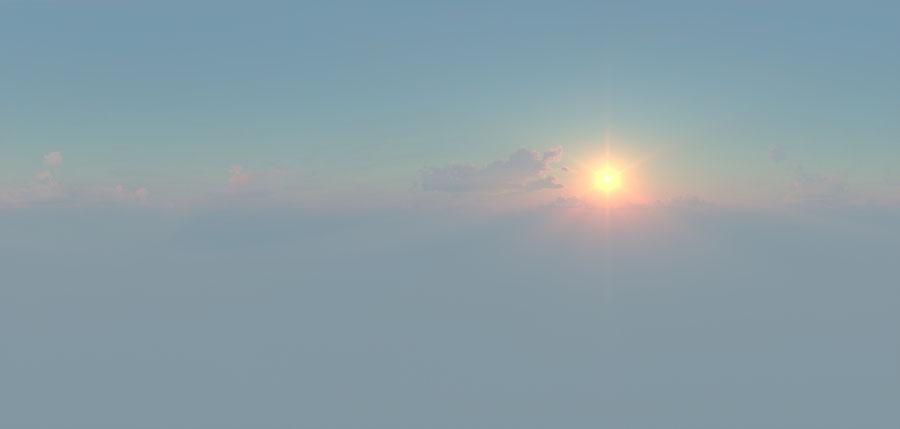 DIONYSXS - HDR ( sunset mattepainting )