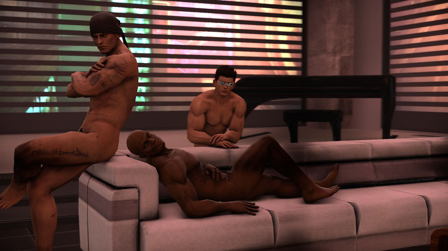 DOA Nude Male pack