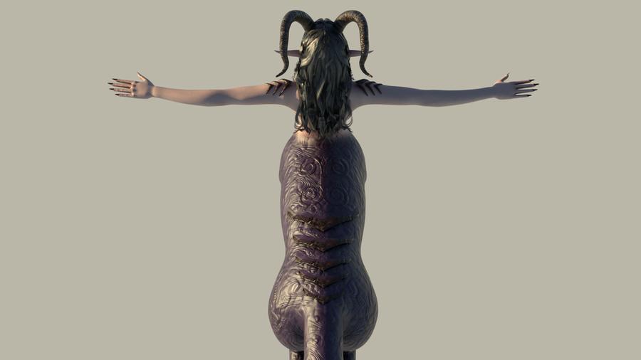 Demon Centaur - The Last Succubus