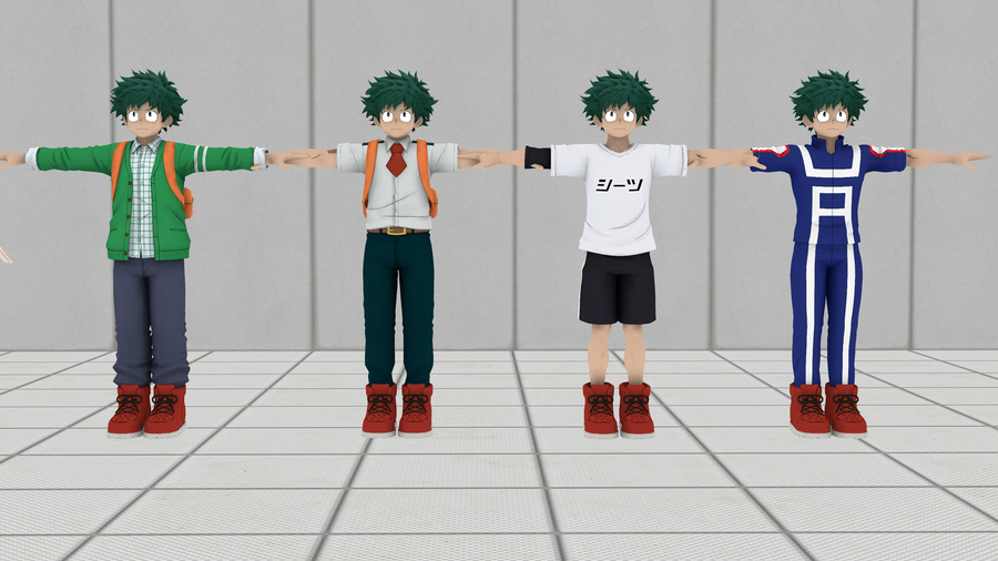 My Hero Academia: Izuku Midoriya V2 Pack