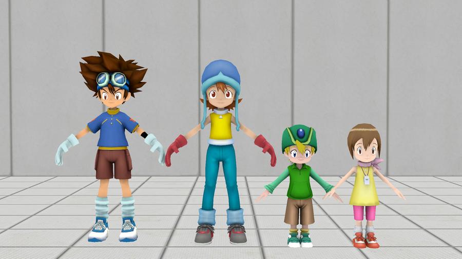 Digimon Adventure: DigiDestined pack
