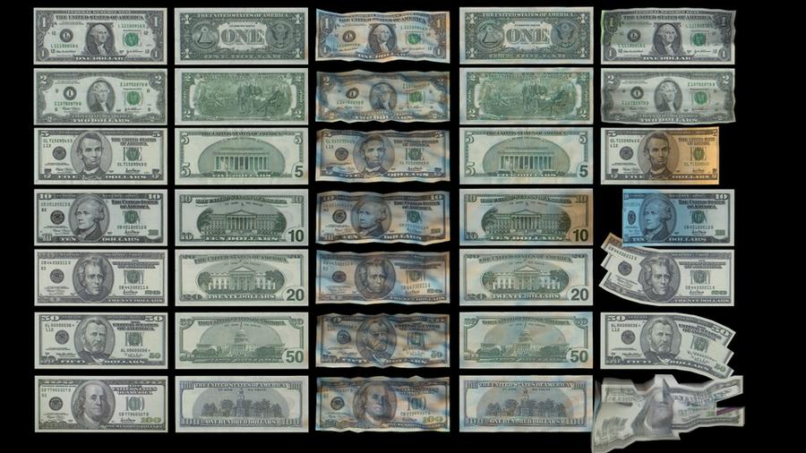 High-Quality US Dollar Bills