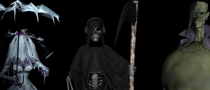 Brutal Legend: Selection of Drowning Doom Mooks
