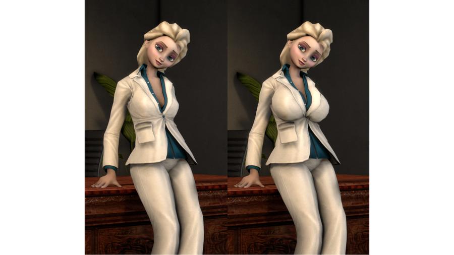 Bodymorph Elsa [NEW: Business Suit]