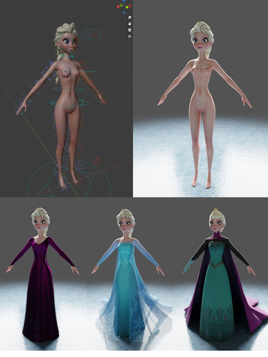 Elsa - Frozen - Firebox Studio