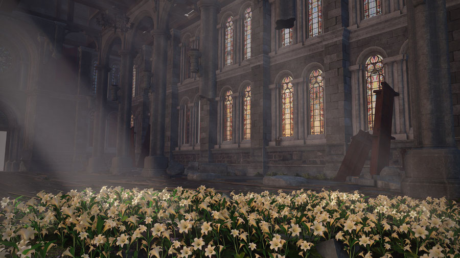 Church - Final Fantasy VII Remake