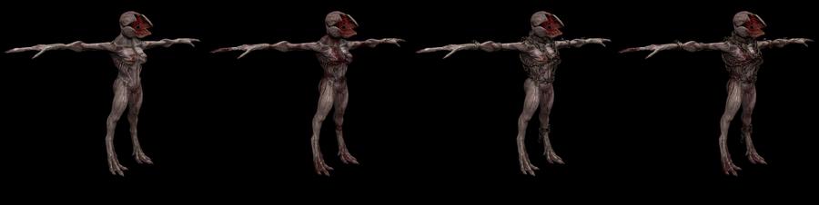 Male and female demogorgon