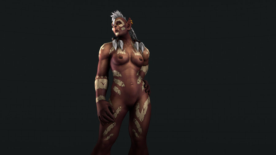 World of Warcraft - Female Orc