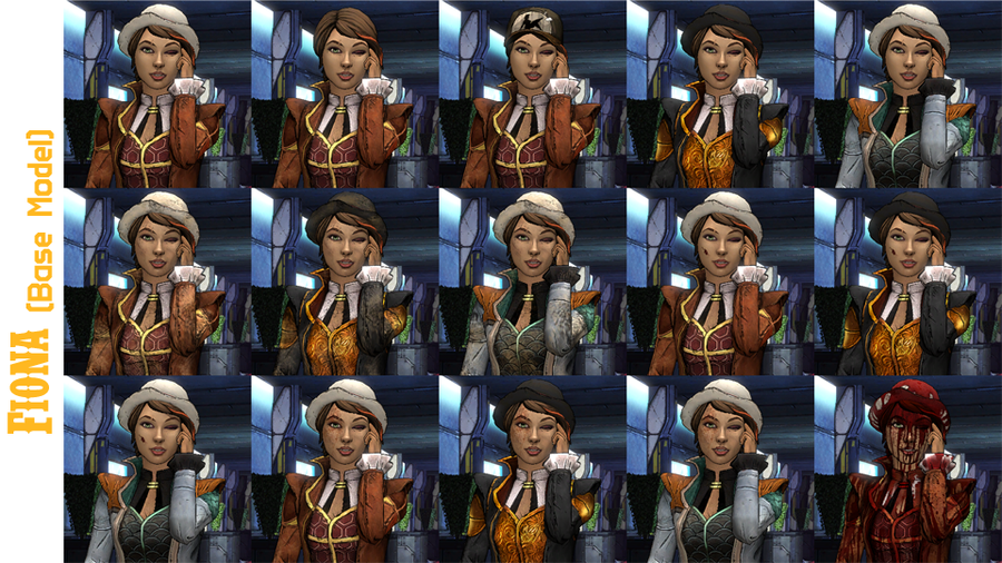 Tales from the Borderlands - Fiona Model Pack