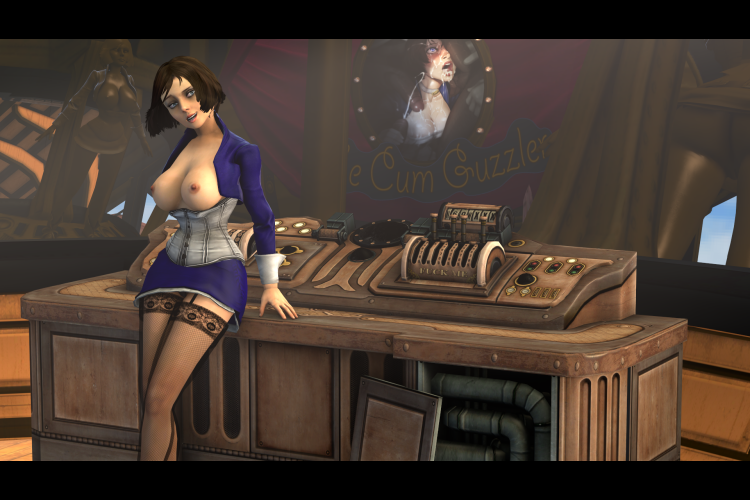The First Lady Airship NSFW Variant [Bioshock Infinite]