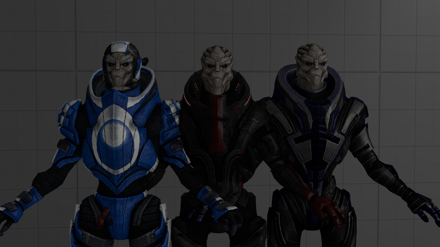 Aliens & Mercs Pack [Mass Effect]