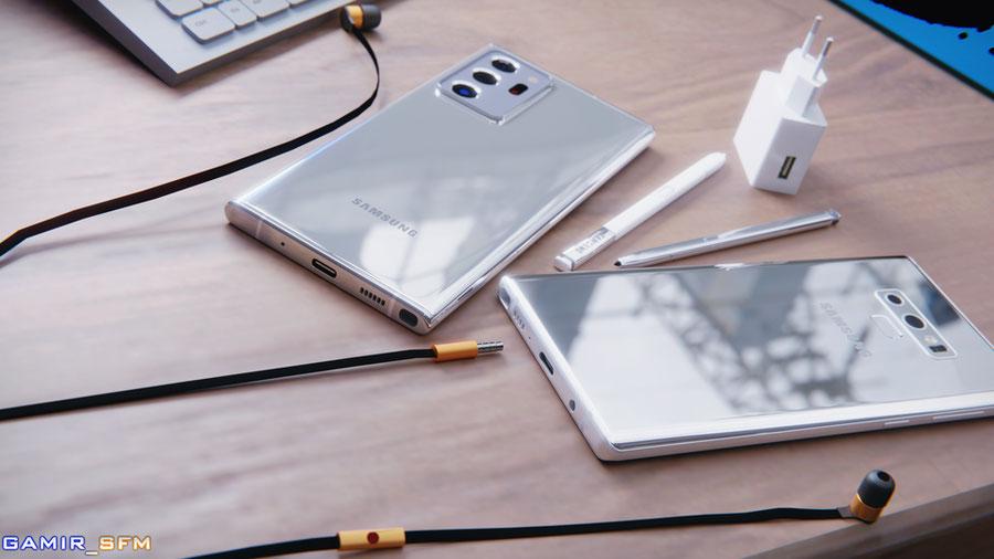 Galaxy Note20 Ultra - Mystic Bronze