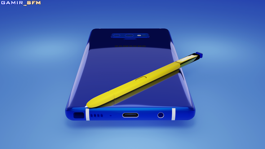 Galaxy Note9 Ocean Blue