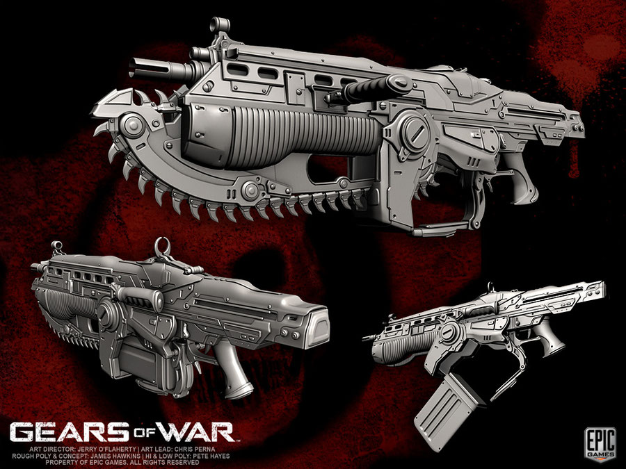 Gears of War Model Pack