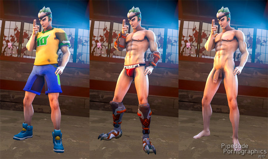 [ Overwatch ] Young Genji nude