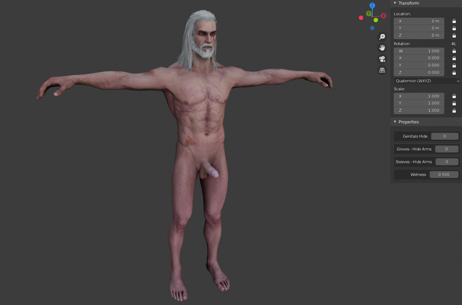 The Witcher 3 - Geralt of Rivia