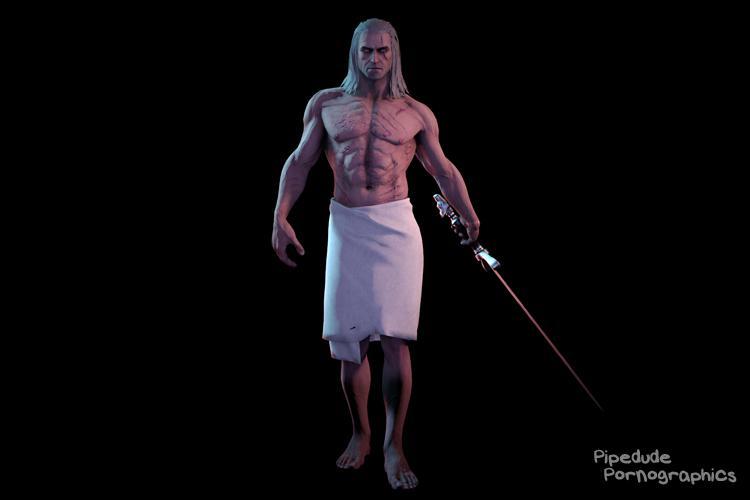 [Witcher series] Geralt of Rivia nude